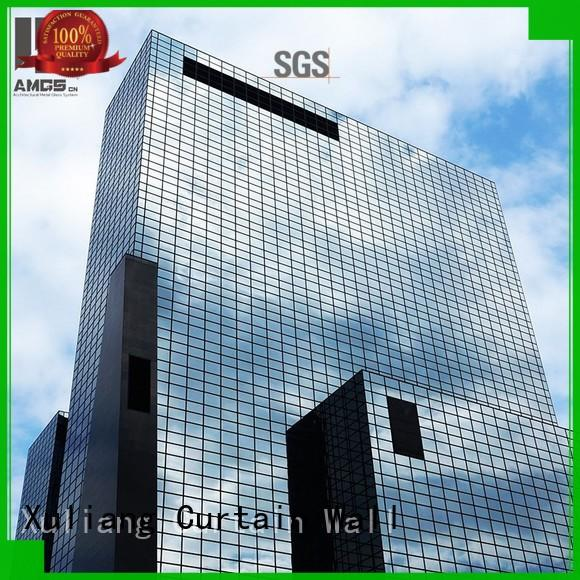 Quality AMGS Brand unitized glass curtain wall