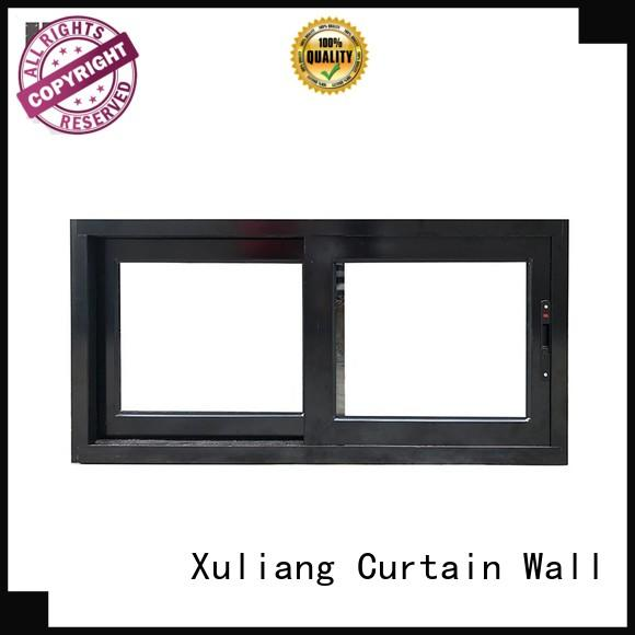 AMGS Brand windows aluminum sliding windows commercial mall supplier