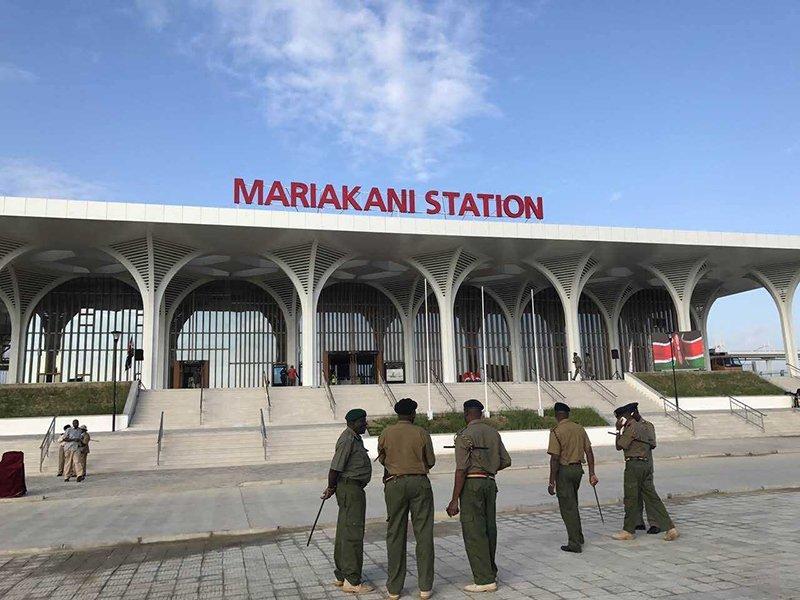 Kenya:railway station