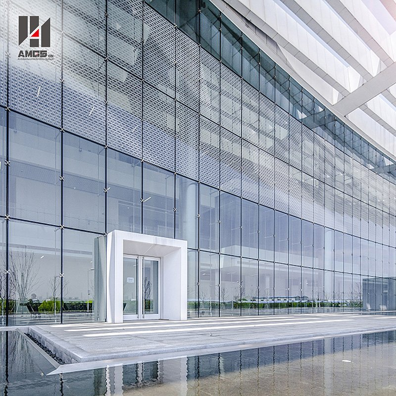 AMGS Point Support Glass Curtain Wall Point Support Glass Curtain Wall image17