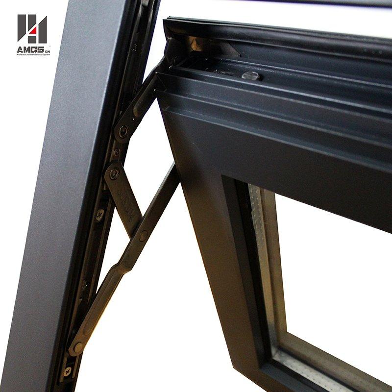 AMGS China Supplier Latest Awning Window Designs Aluminum Top Hung Window Aluminum Awning Windows image29