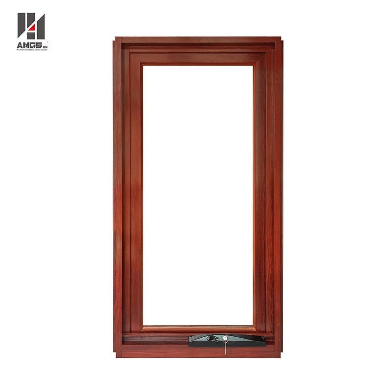 Australian Standard Double Glass Swing Crank Aluminium Awning Windows