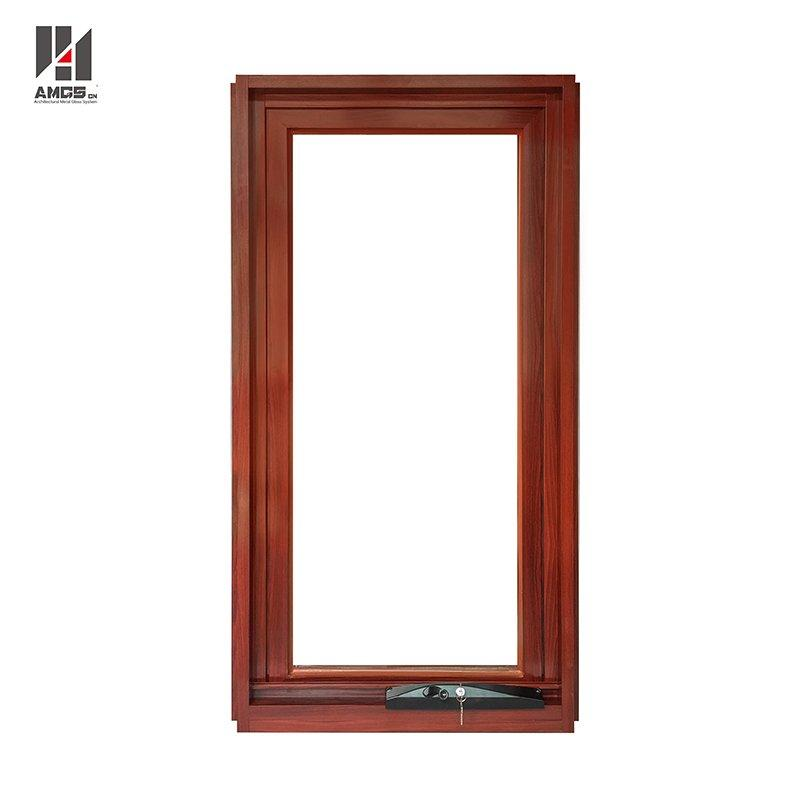 Australian Standard Double Glass Swing Crank Aluminium Awning Windows