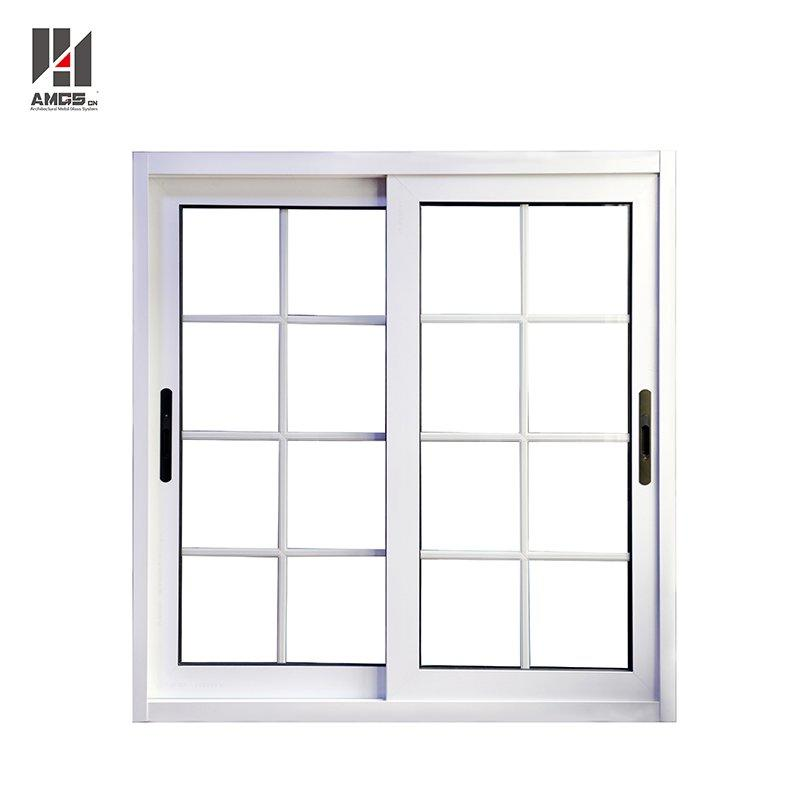 Latest French Window Grill Design Aluminium Sliding Glass Window