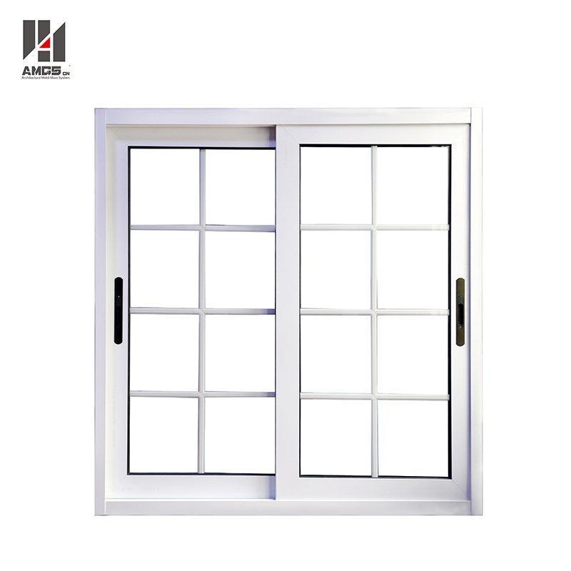 Latest French Window Grill Design Aluminium Sliding Glass Window