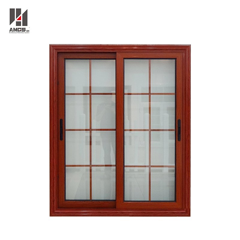 AMGS Latest French Window Grill Design Aluminium Sliding Glass Window Aluminum Sliding Windows image23