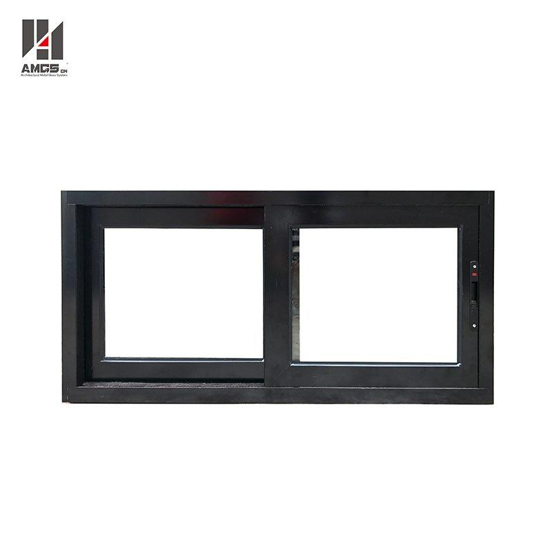 Aluminium Sliding Window Double Glazed Modern Window Grill Design
