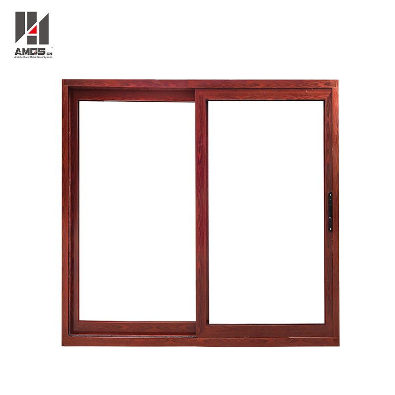 AMGS Customized Aluminum Window With Double Glazing For Hotel Shopping Mall And Office Aluminum Sliding Windows image19