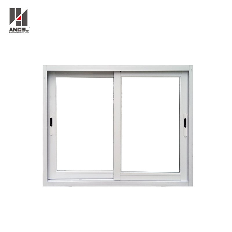 AMGS White Waterproof Aluminium Sliding Window With Mosquito Net Aluminum Sliding Windows image17