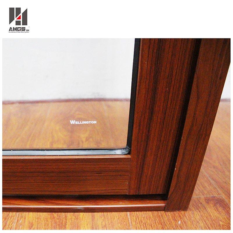 AMGS Modern Wood Grain Aluminum Sliding Windows Aluminum Sliding Windows image16