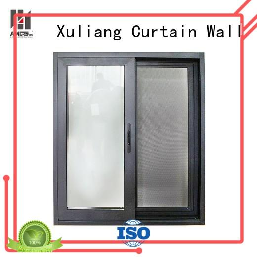 aluminum sliding windows commercial style aluminum AMGS Brand aluminium sliding windows