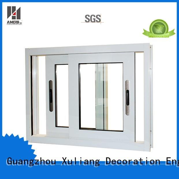 aluminum sliding windows commercial window alloy waterproof Warranty AMGS