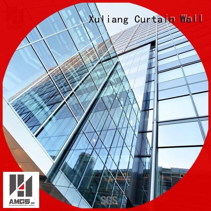 unit facade AMGS Brand glazed aluminum curtain wall