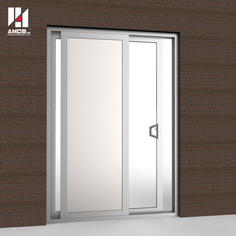 Commercial Tempered Glass Aluminum Sliding Doors Manufacturers