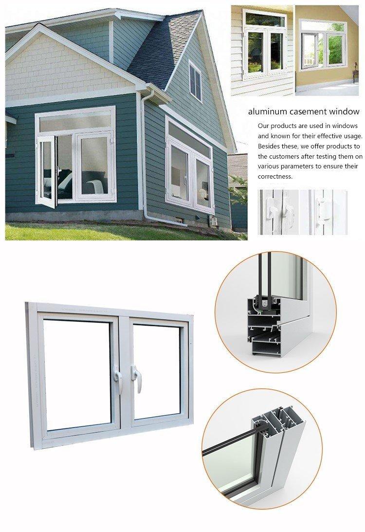 Hot aluminum casement window manufacturers white AMGS Brand