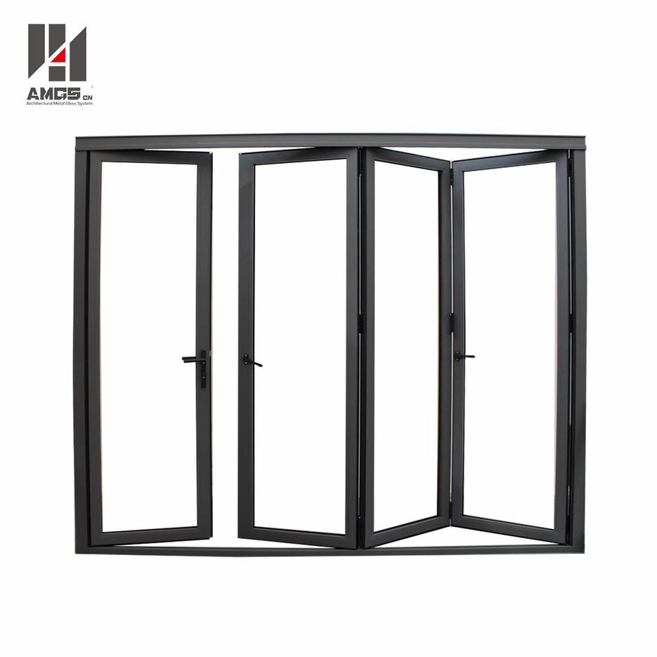 Accordion Aluminum Folding Door With Powder Coated