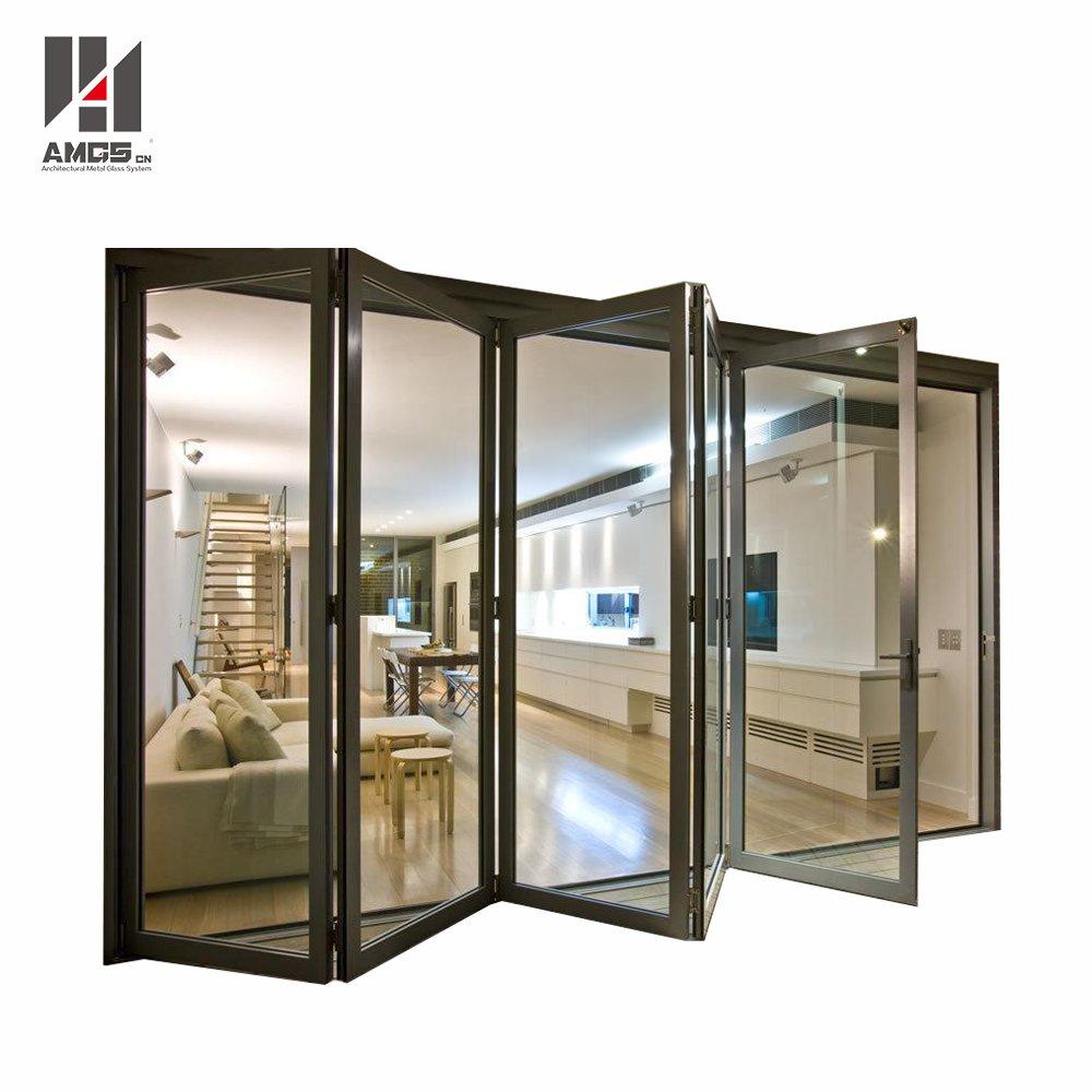 AMGS Commercial Exterior Aluminium Bifold Doors For Australian Standard Aluminum Bifold Doors image12