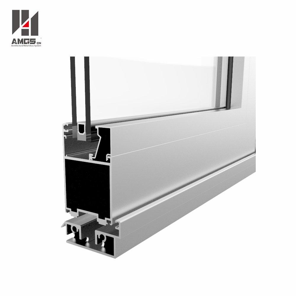 Commercial Exterior Aluminium Bifold Doors For Australian Standard