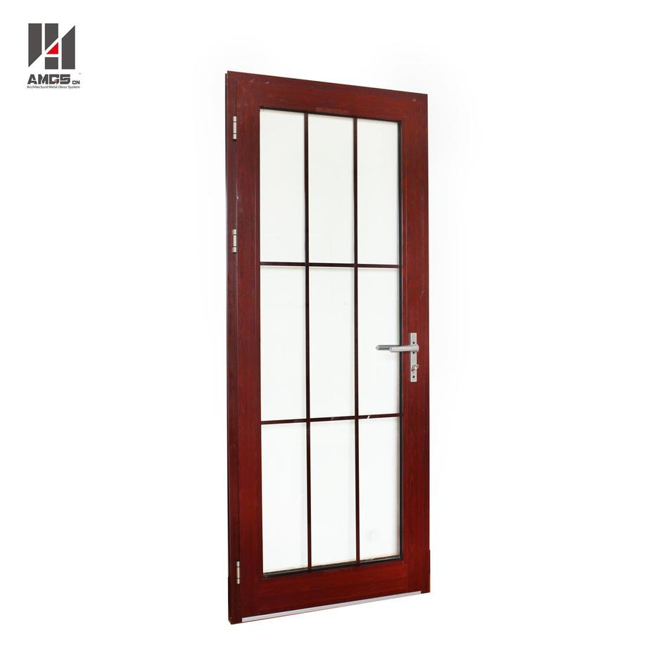 Aluminum Casement Doors With Australian Standards For Residential Or Commercial