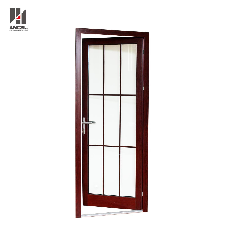 AMGS Aluminum Casement Doors With Australian Standards For Residential Or Commercial Aluminum Swing Doors image11