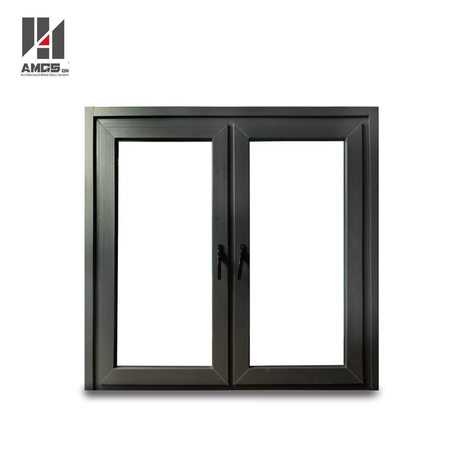 Double Glass Waterproof Upvc Casement Window