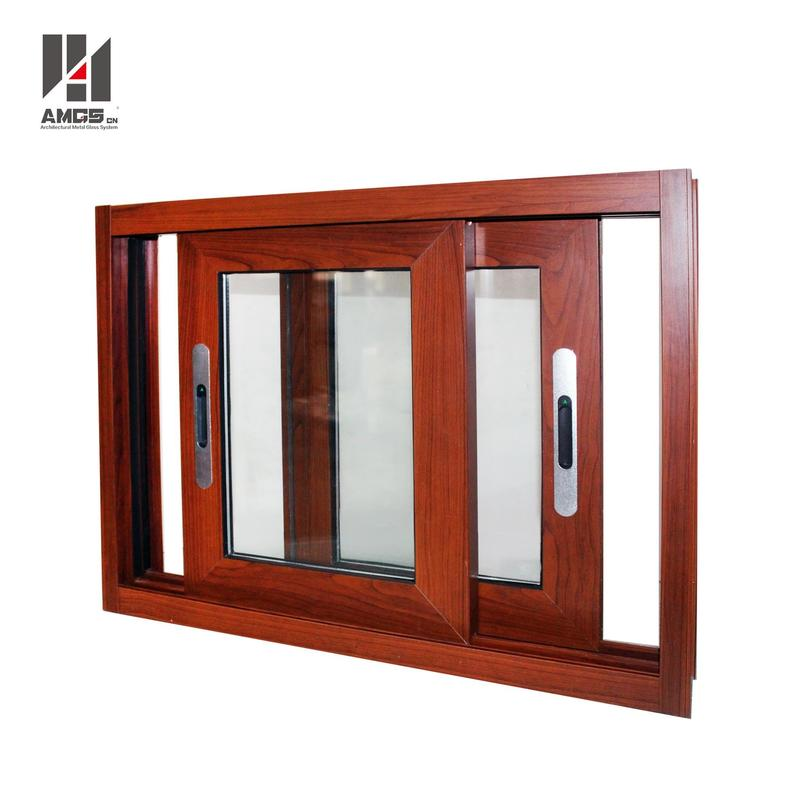 Customized Glass Window Aluminum Sliding Window With Double Glazing