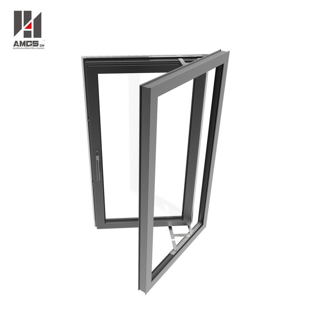 Aluminium Casement Windows With Tempered Glass
