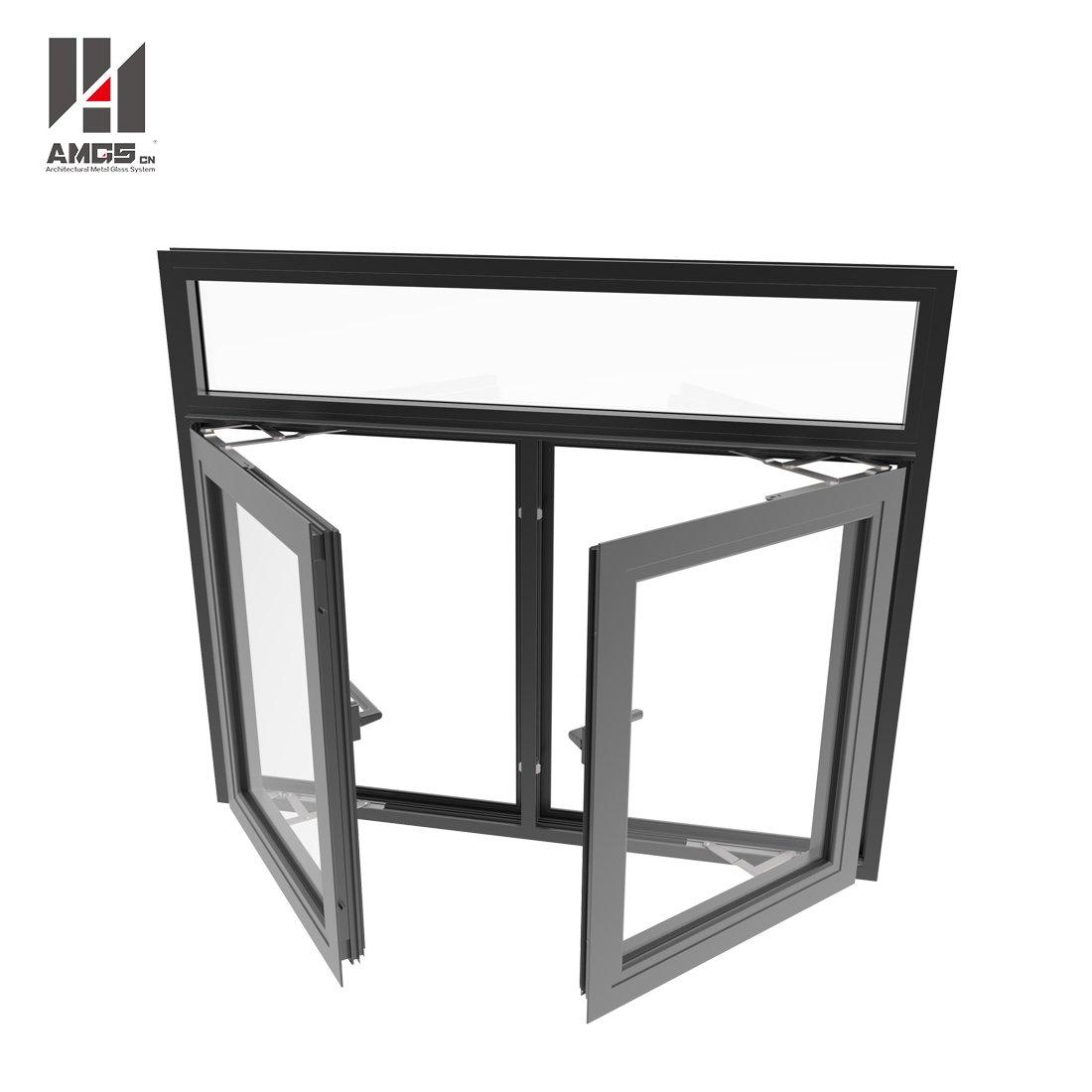 AMGS Commercial Aluminium Windows And Doors In China Aluminum Casement Windows image7