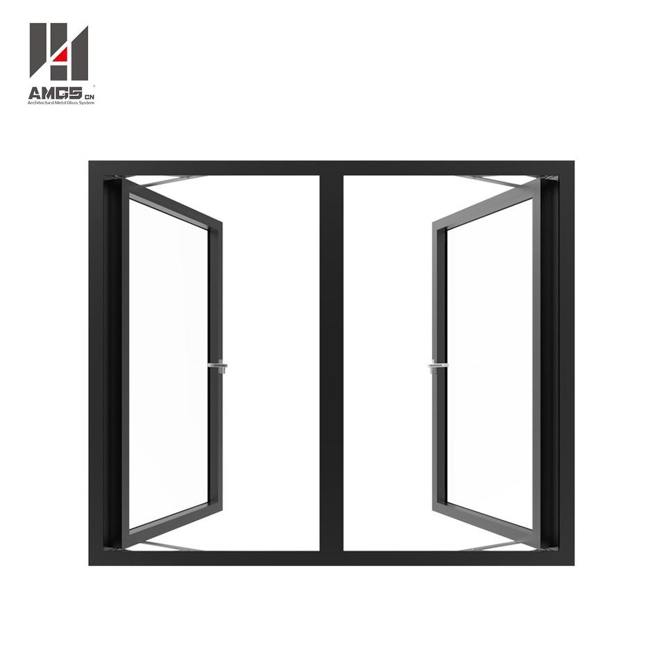 Aluminium Double Glazed Windows With Casement