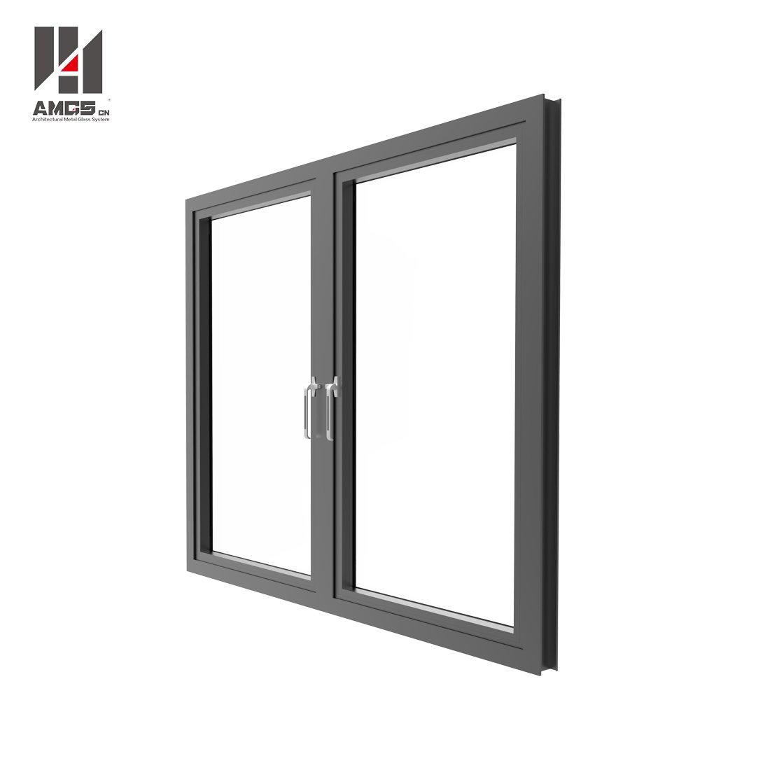 AMGS Aluminium Double Glazed Windows With Casement Aluminum Casement Windows image6