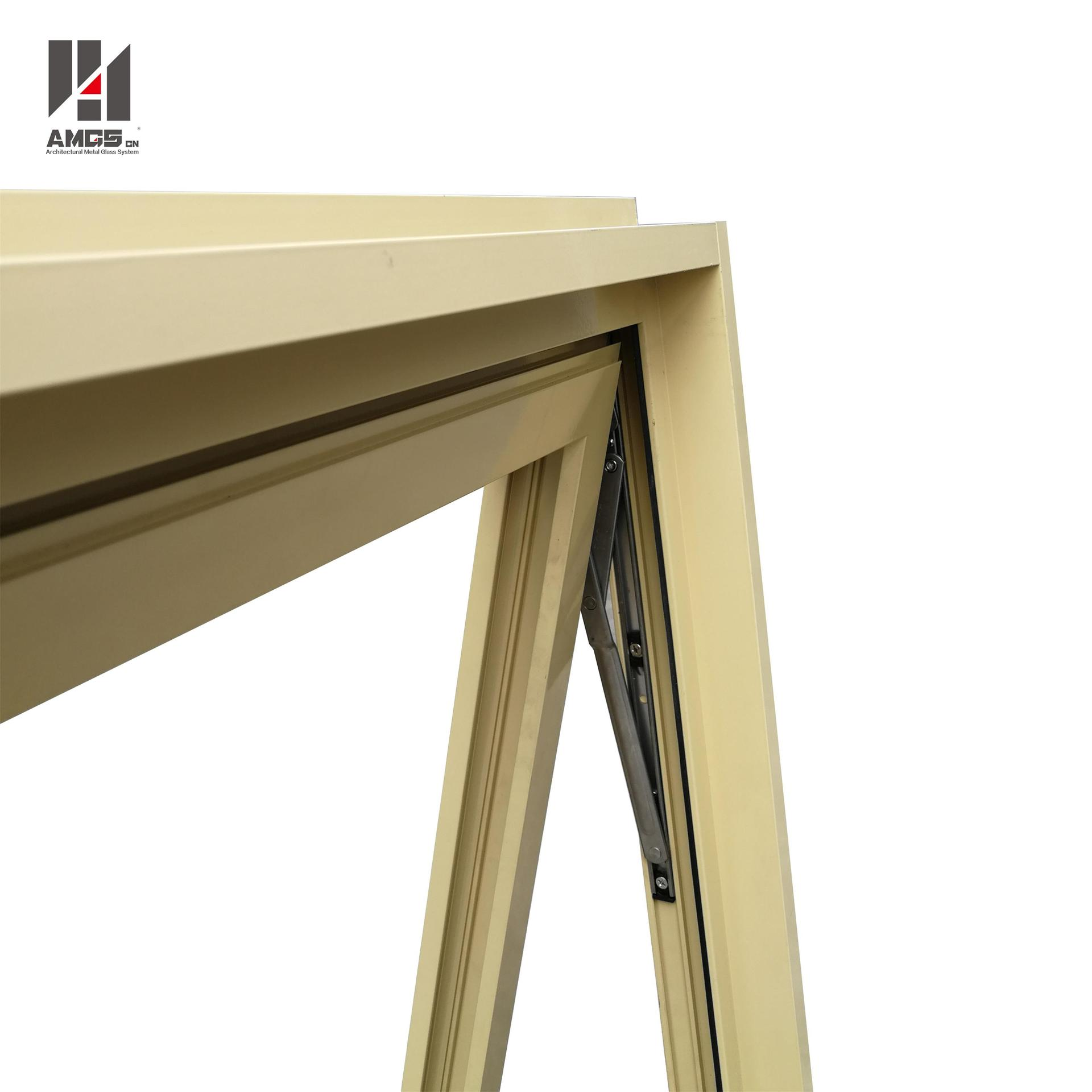 Aluminum Awning Window For Australian Standard With Chain Winder