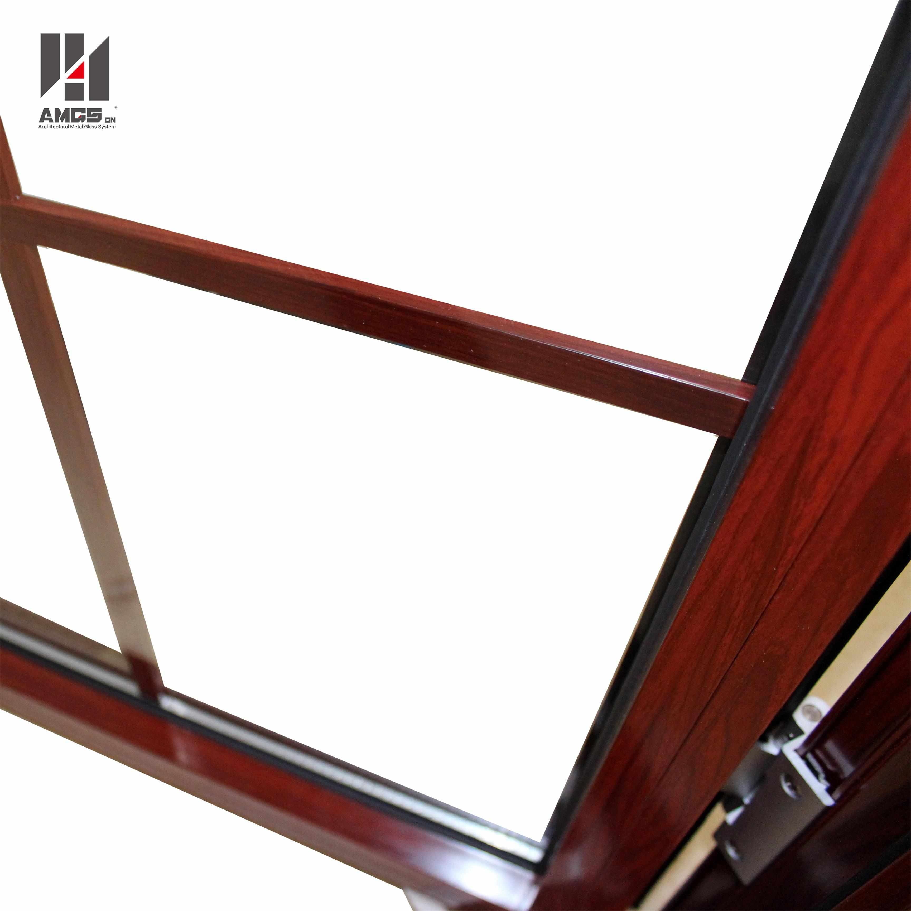 AMGS American Style Aluminum Casement Window With Crank Handle Aluminum Casement Windows image3