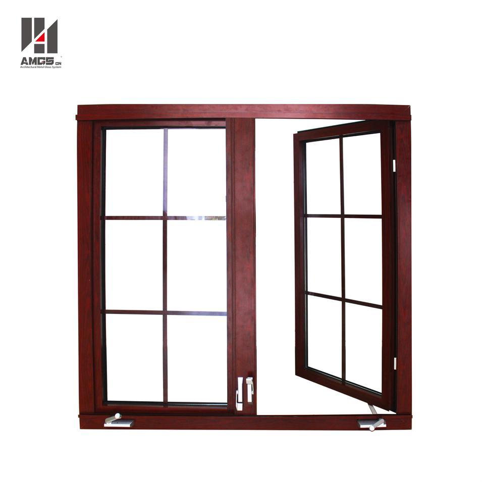 American Style Aluminum Casement Window With Crank Handle