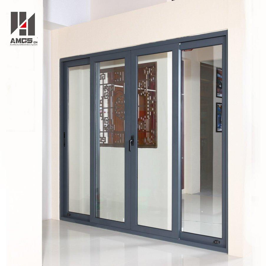 Exterior Balcony Aluminium Profiles Large Sliding Glass Doors