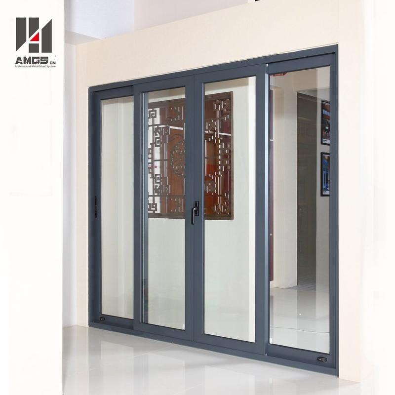 Exterior Balcony Aluminium Profiles Large Sliding Glass Doors