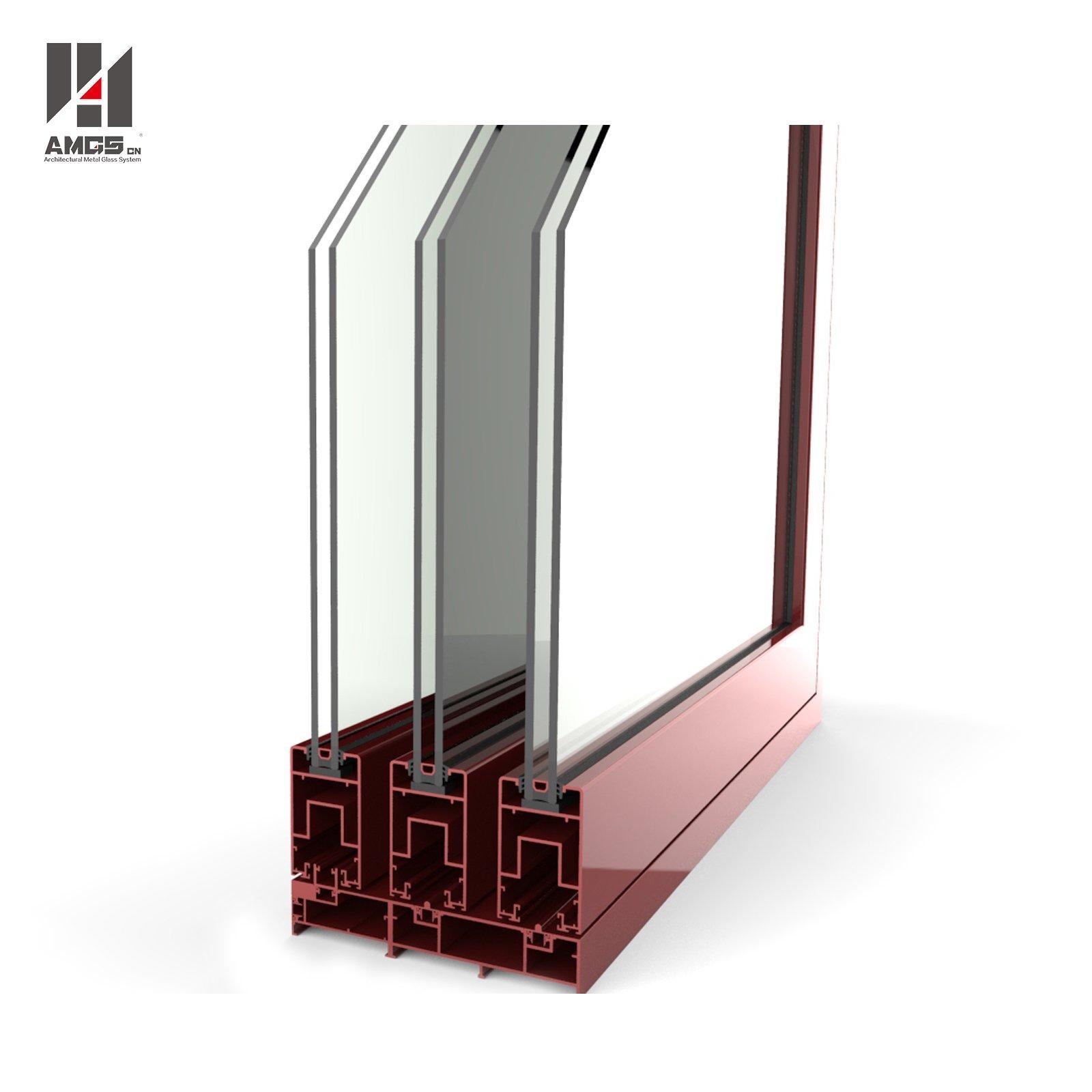 Customized Aluminum Sliding Door For Commercial And Residen
