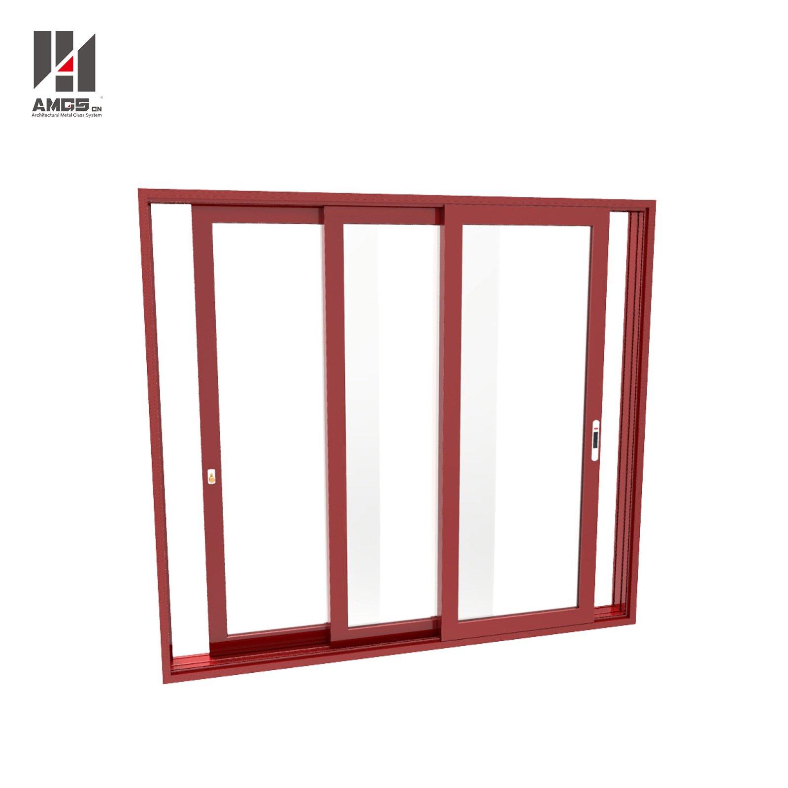 AMGS Customized Aluminum Sliding Door For Commercial And Residen Aluminum Sliding Doors image7
