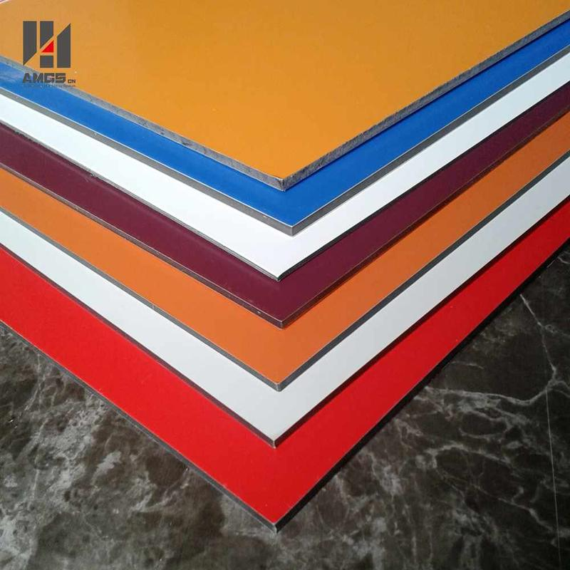 PE/PVDF Coated Aluminium Composite Panel For Commercial Building