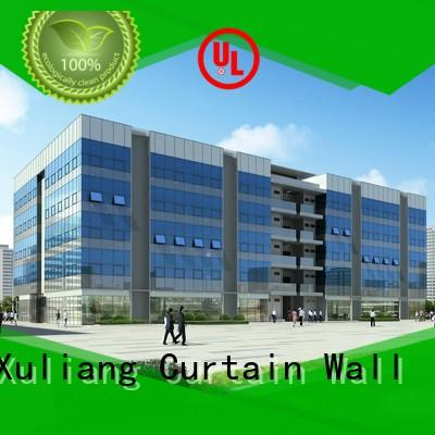 exteriorbuilding wall glass curtain wall mirror AMGS Brand company